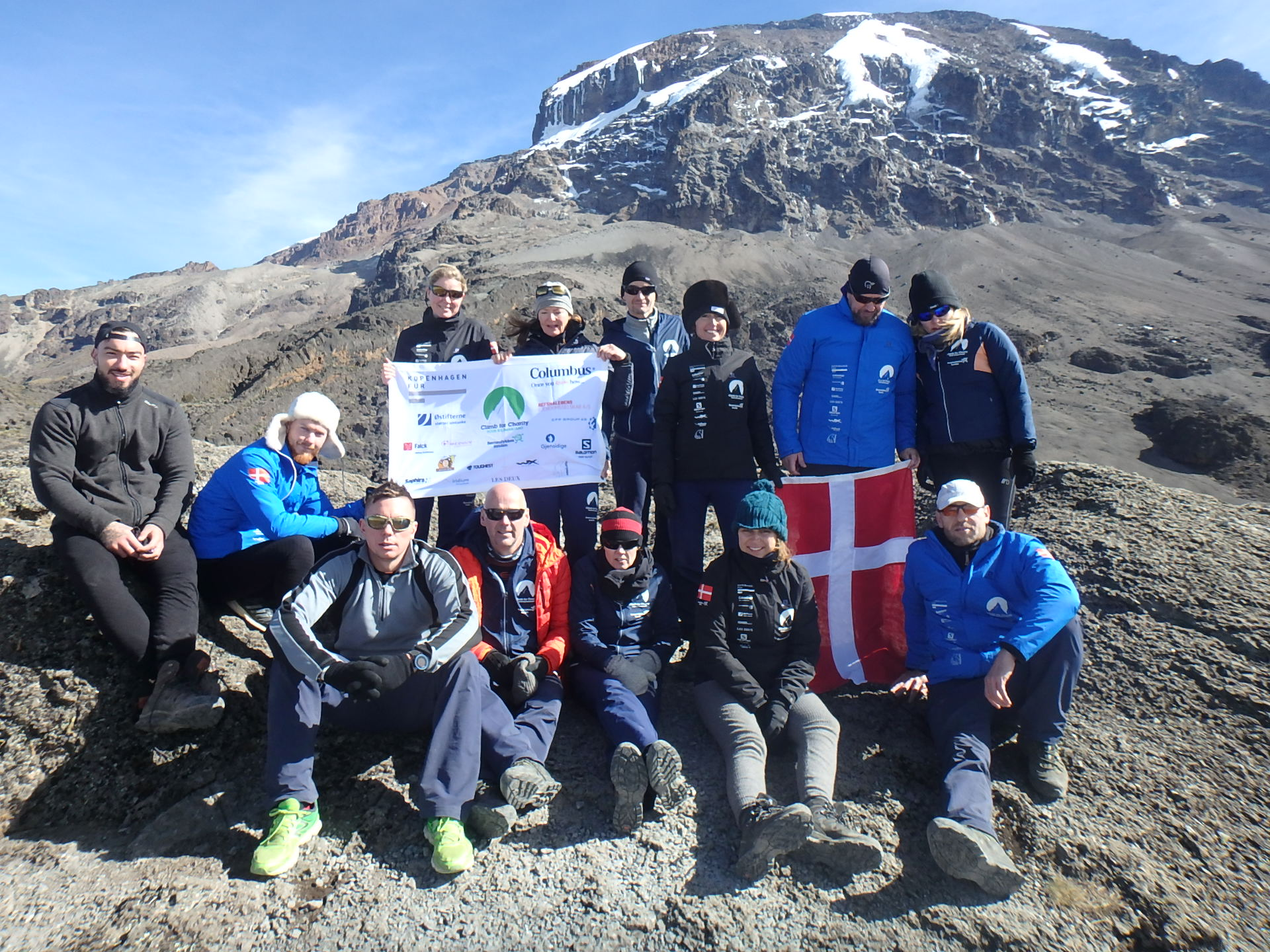 Stars beat the pain barrier to conquer Kilimanjaro ...