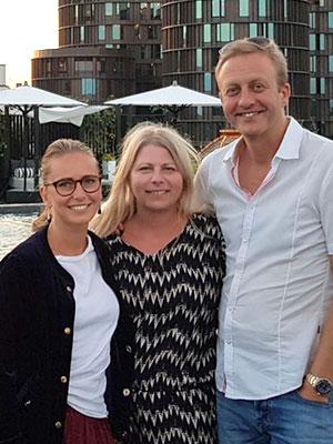 Dinnah, Lars og Louise